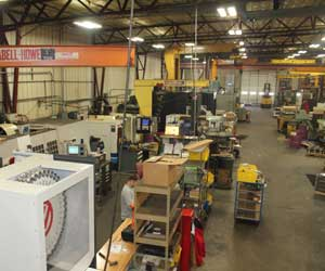 Able Tool Corporation Cincinnati Production Floor
